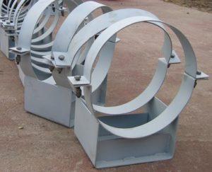опоры скользящие хомутовые для трубопроводов