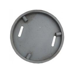 Крышка 2 стальная с запорным устройством
